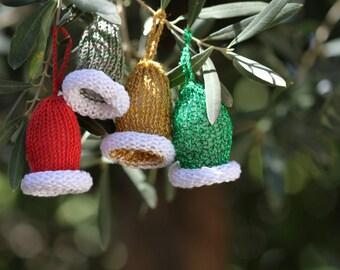 Elf Hat PDF Pattern, Christmas Ornament Pattern, Christmas Home Decor