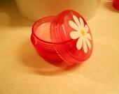 Watermelon Lip Balm, All natural lip balm, vitamin e lip balm, lip balm jar