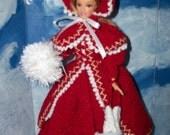 Barbie in Crocheted 1895 Skating Costume