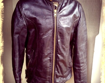 MOTO   ///    Black Motorcyle Jacket