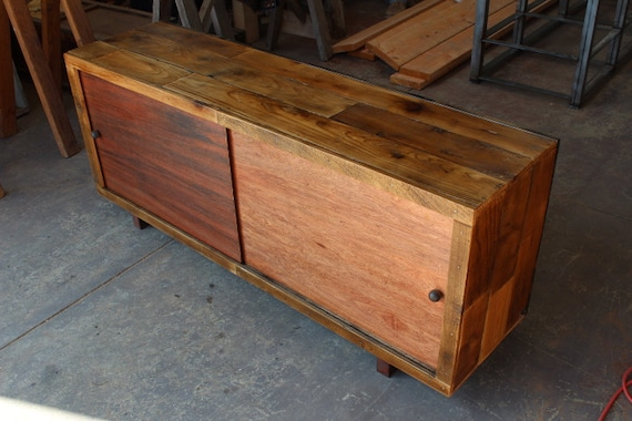 Reclaimed Wood Credenza WB Designs - Reclaimed Wood Credenza WB Designs