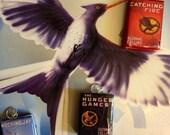 Hunger Games Book Pendants