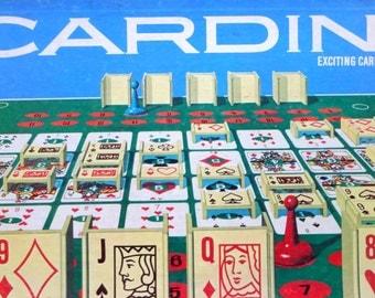Vintage Milton Bradley Cardino Game 1970