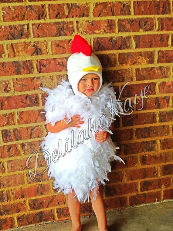 Toddler Chicken Costume 2T Fluffy Chick Halloween Costume