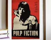 Pulp Fiction Vintage Movie Poster