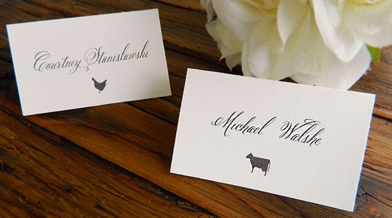 Diy Printable Place Card Escort Card With By