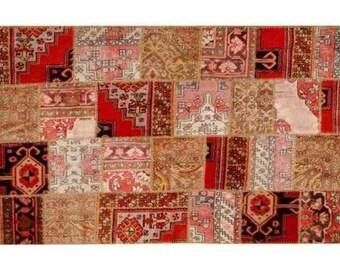 Patchwork rug Natural 107