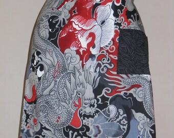 Dragon Waist Tie Apron