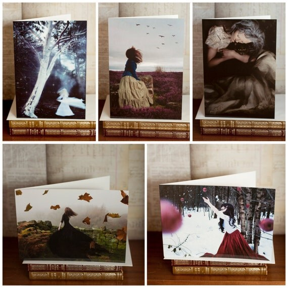Pack of Five Fine Art Photography Greetings Cards