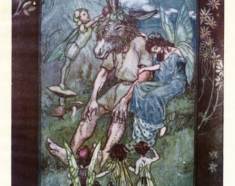 Where is Pease Blossom - Shakespeare - A Midsummer Night's Dream - Giclee Print