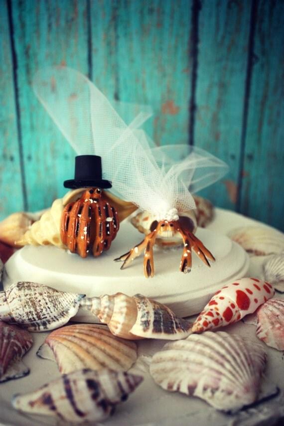 Hermit Crab Wedding Cake Topper Crab Wedding Cake