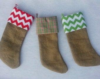 burlap stocking monogrammed christmas stockings family christmas stockings - Monogrammed Christmas Stockings