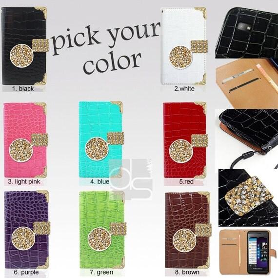 Blackberry Z30 Leather Cases Blackberry Z30 Wallet Case