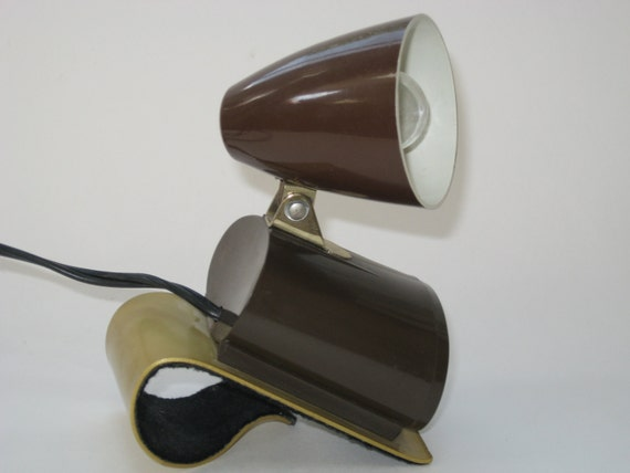 Mid Century Retro Tensor Clip On Headboard Bed Light By