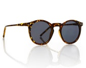 OMalley Round Tortoise Sunglasses - Smoke Lens X American Deadstock