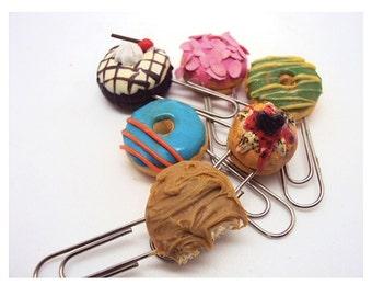 Donut Novelty Paper clips
