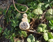 Wiccan Priestess Pendant - Mother Goddess Necklace - Gift of the Oak