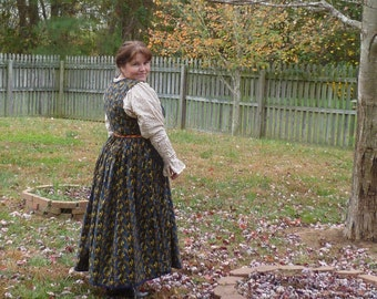 Russian Dress ( type of sarafan with cut back)
