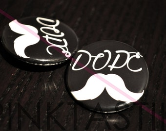 20 Dope Mustache Buttons, Mustache party, Beard Gang, Beard theme, Beard pin, mustache pin, mustache baby shower, mustache party