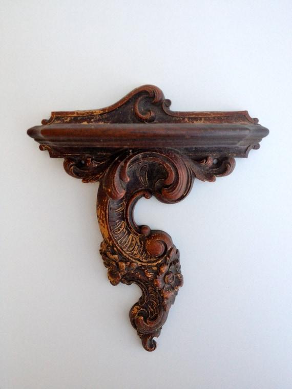 Wall Sconces With Shelf : Vintage wall sconce/shelf
