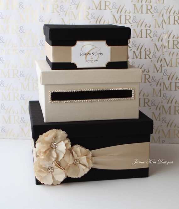 Wedding Card Box, Money Box, Gift Card Holder - choose your box ...