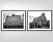 Detroit Photography - Detroit CARE Package - Care Building - Michigan Central Station - 8x10
