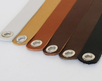 Genuine Leather Strap For Making  Necklace