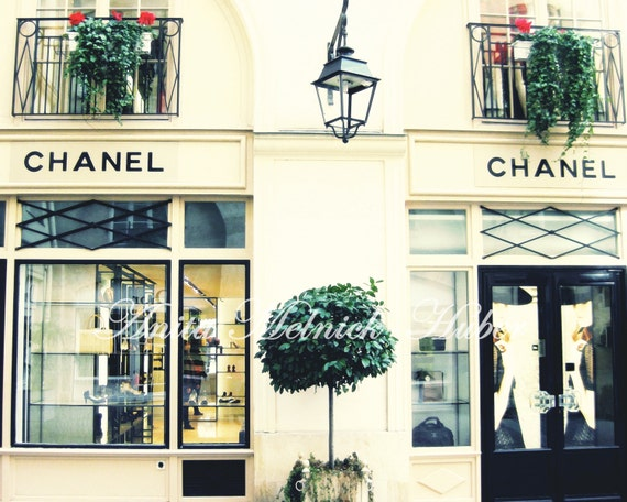 Chanel Art- Paris Print- Boutique- Fashion Photography - Parisian -Boudoir- Chic- French-Travel Theme-Classic-Preppy-French Nursery, Bedroom