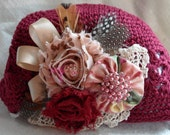 Old Country Roses Crochet Hat