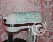 Kitchen aid mixer vinyl decal - Vinyl Wall Art