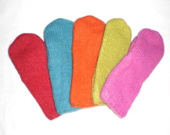 Icelandic mittens, Icelandic wool mittens, black mittens, red mittens, green mittens, grey mittens, orange mittens, S-M-L-XL made to order