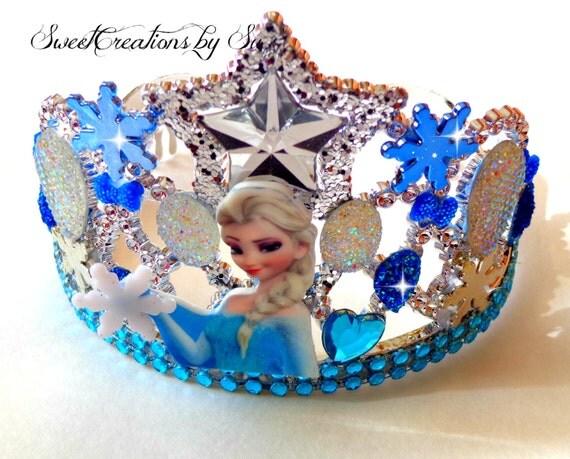 Princess Elsa Birthday Party Crown