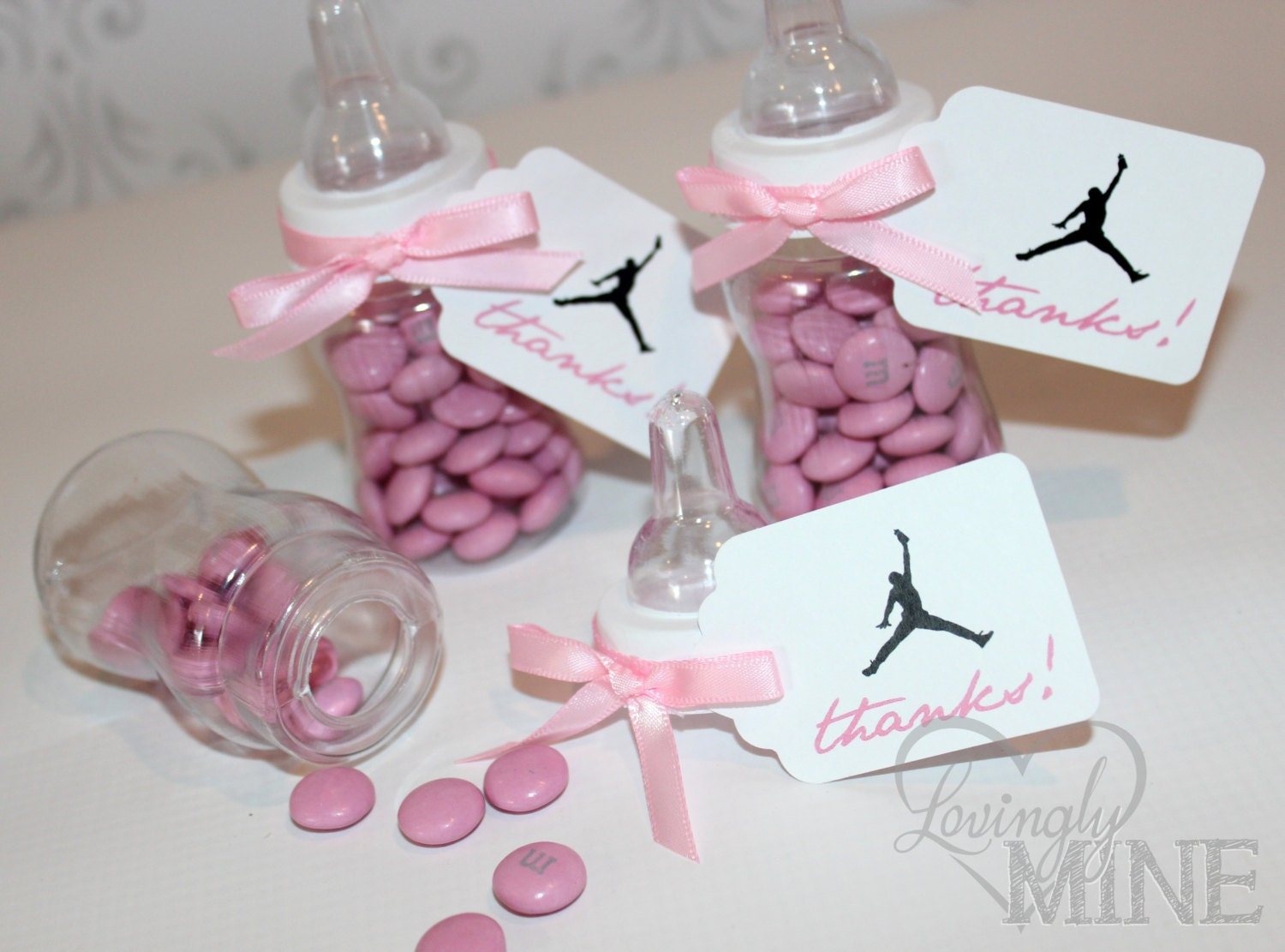 jordan jumpman inspired baby shower favors by lovinglymine