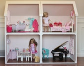 Doll House Plans for American Girl or 18 inch dolls - One Room Module - NOT ACTUAL HOUSE