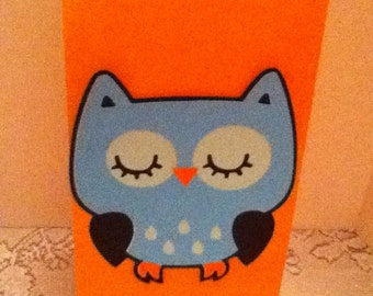 Cute Owl Party Bags