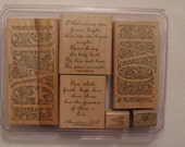 Peace & Love Stampin' Up Stamp Set of 6