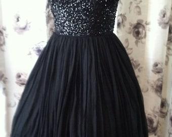 Little black dress 1950 xsmall small