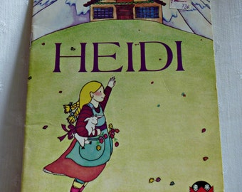Heidi Child of the Mountains A Wonder Book for Children 1978