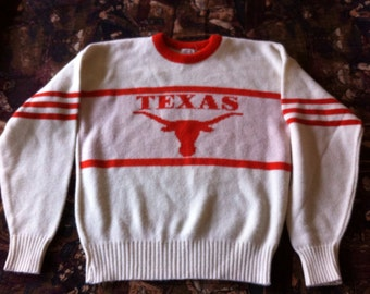 Texas Longhorns Vintage Cliff Engle Sweater