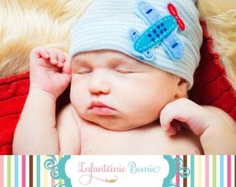 BABY BOY HAT, baby boy, boy baby hat, airplane, boy newborn hat, newborn baby boy hospital hat, boy newborn hospital hat, baby boy hat