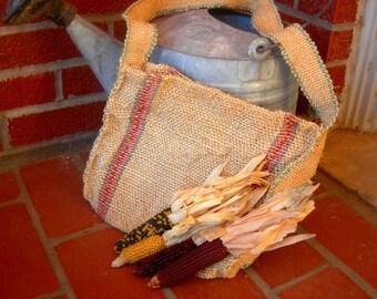 Vintage rustic bag