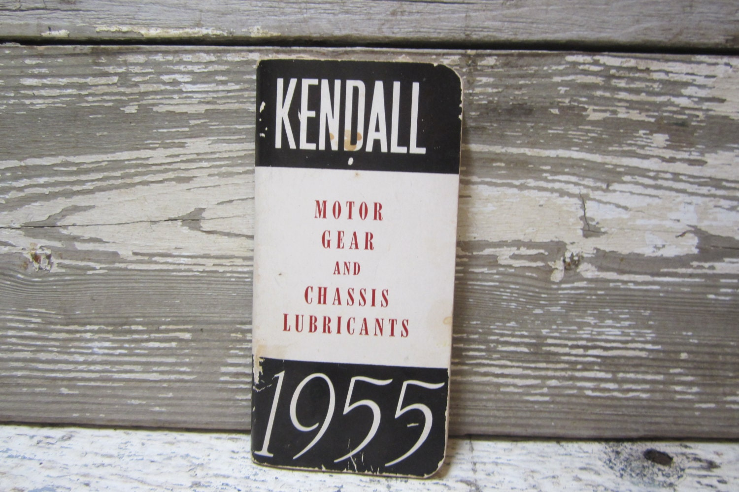 Vintage Kendall Oil Book Diary Gas Station Give Away Premium
