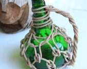 "Pirates Rum Jug 8,5"" Beach Decor, Grass, Green"