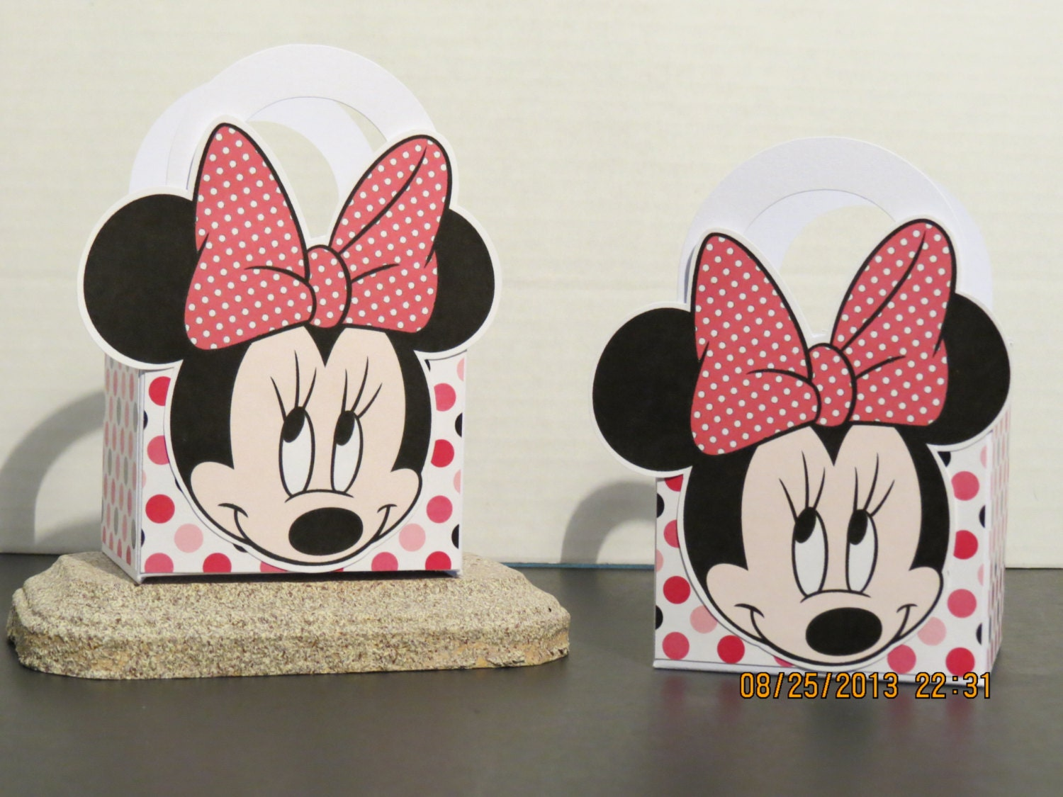 minnie mouse favor gift bags set of 12