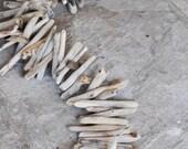 Driftwood garland-driftwood decoration-beach wedding garland-1 yard