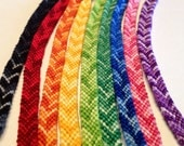 Rainbow Ombré Chevron Friendship Bracelets