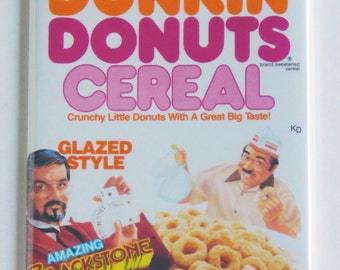 Donuts Cereal Fridge Magnet