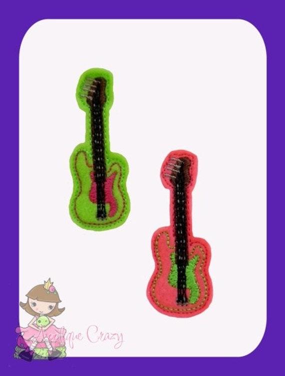 Guitar feltie design
