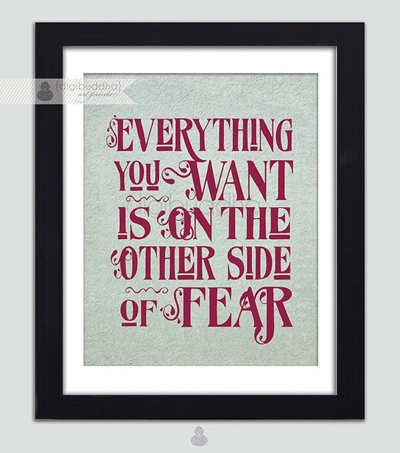 Items Similar To Inspirational Poster 8x10 Typography