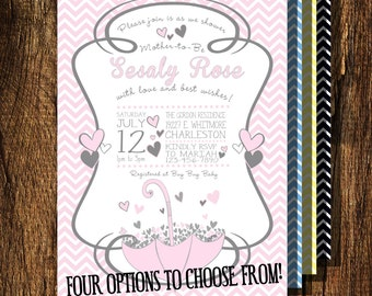 Showered with Love Invitation